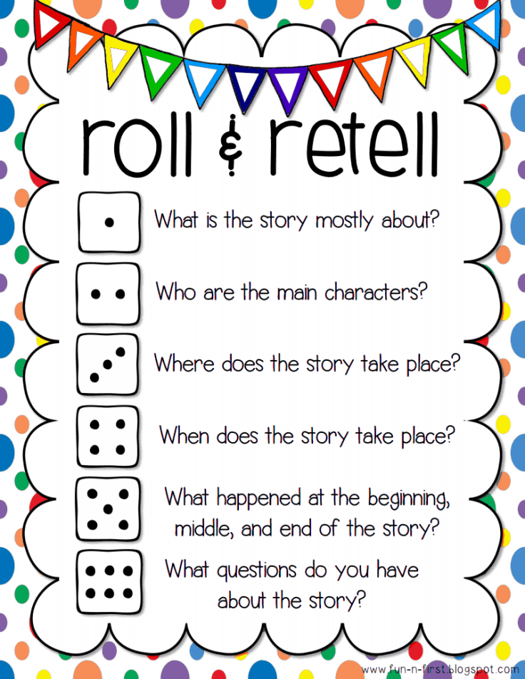 reading roll and retell